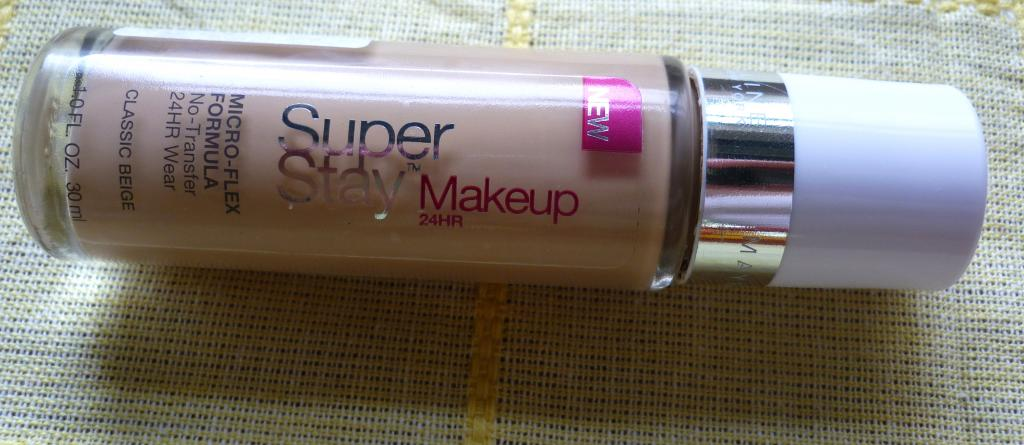Review: Base Super Stay 24Hr Makeup de Maybelline