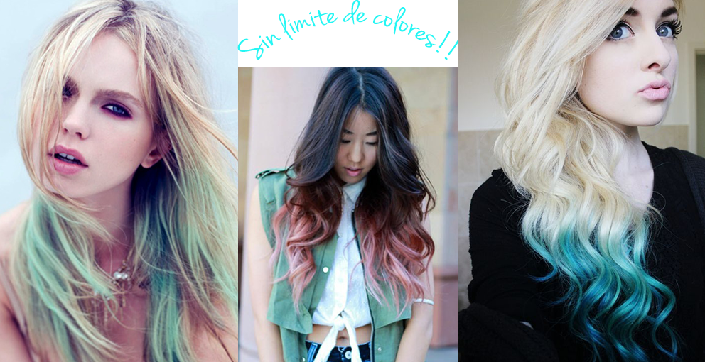 colors ombre hair