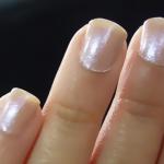 Esmalte del día! Cristal Nail Polish (HVL01) de Missha